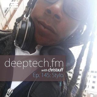 DeepTechFM 145 - Stylo (2016-06-30)