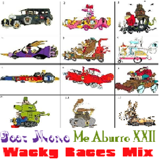 Poor Mono - Me aburro XXII - Wacky Races Mix  2D16