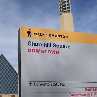 Wayfinding in Edmonton inches forward