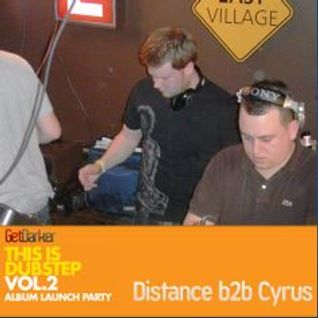 Distance b2b Cyrus – Live at This Is Dubstep 2 Launch Party - March 2010