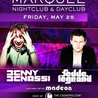 Benny Benassi - Live @ Marquee NightClub - 25.05.2012