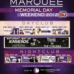 Chuckie - Live @ Marquee DayClub - 26.05.2012