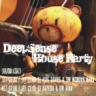 DJ hide Mix 20160730 at Deep Sense Party!!