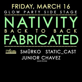 Nativity b2b Fabricated - Static Fridays at Detroit Bar Costa Mesa [LIVE SET] 3/16/12