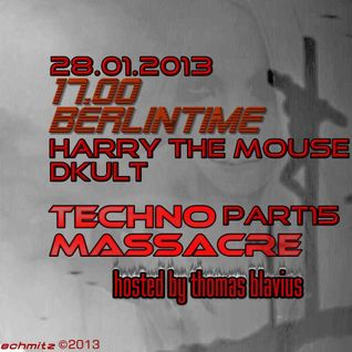 DKult @ Techno Massacre 28-01-2013