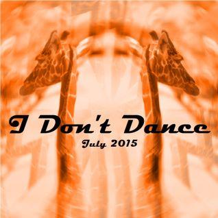IDD (I Don't Dance) Tech House Mixtape - July 2015