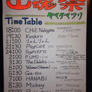 2014.05.10 Yamata Matsuri - DJ CHiE Nakajima played Classic Psy Trance for my best friends Wedding