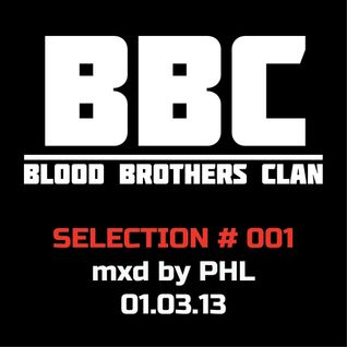 BBC SELECTION # 001 mixed by PHL