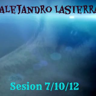 Alejandro Lasierra - Sesion 7/10/12