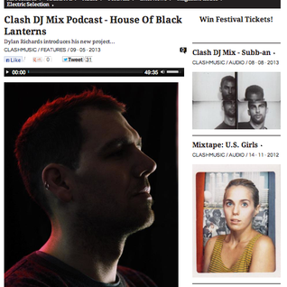 House of Black Lanterns - Clash Mix May 2013