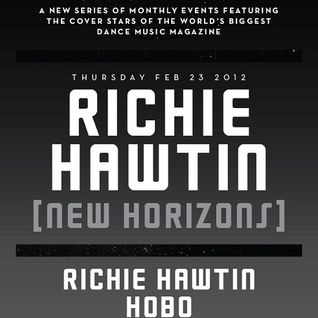 Richie Hawtin @ New Horizons,Village Underground (London) (23.02.12)