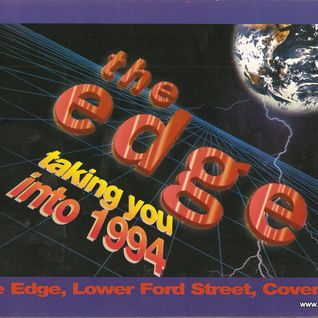Grooverider The Edge 'Bringing in the New Year' 31st Dec 1993