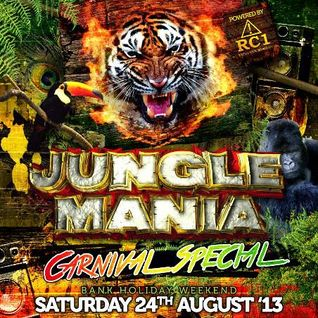 Brockie B2B Kenny Ken @ Jungle Mania Carnival weekend 2013