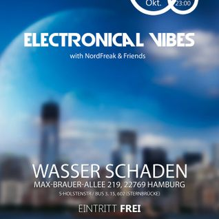 Ma-Cell - DJ Set at electronical vibes, Wasser Schaden, Hamburg - 17.10.2014
