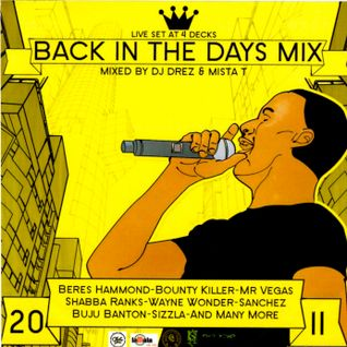 "DJ DREZ (KACHAFAYAH SOUND) & MISTA T (CHALICE SOUND) LIVE SET @ 4 DECKS ""BACK IN THE DAYS"""