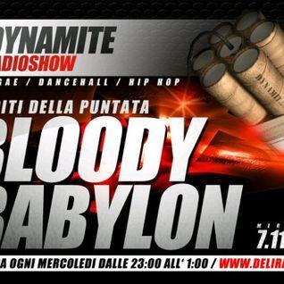 DYNAMITE radio show   ospiti BLOODY BABYLON   prima parte