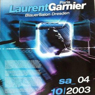 Laurent Garnier /// Parkhotel Dresden /// 04.10.2003