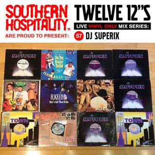 Twelve 12's Live Vinyl Mix: 57 - DJ Superix - New Jack Swing Special!