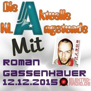 Gassenhauer Live @ DieAktuelleKlangstunde (12.12.2015)