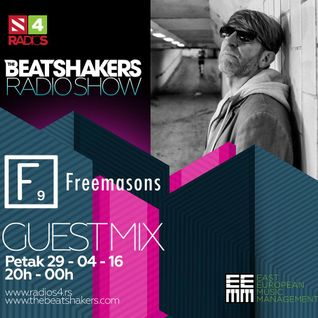 The Beatshakers Radio Show  – Guest Mix by  Freemasons