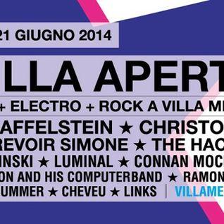 Brodinski @ Villa Aperta Festival 2014 (2014.06.21 - Rome, Italy)