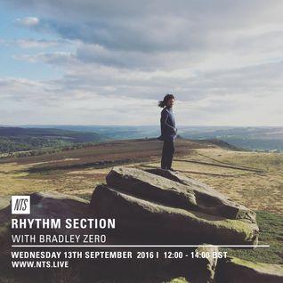 Rhythm Section w/ Bradley Zero - 14th September 2016