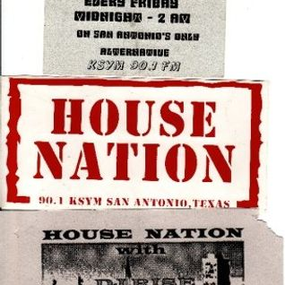 Classic House Nation (Hour 1) 11.25.2000