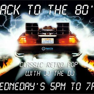 Back To The 80's LIVE on www.traxfm.org 17/8/2016