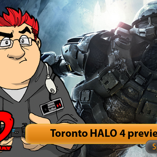 RAD / TWiG Halo 4 Toronto Preview event with interiews from Daniel Cudmore & 343's Kevin Grace