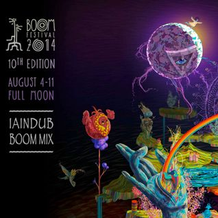 Iain Dub @ BOOM MIX - (Chill Out Gardens) - 2014