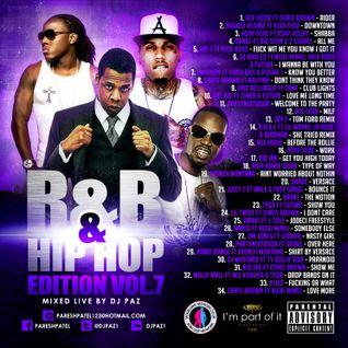 DJ PAZ R&B & HIP HOP VOL.7