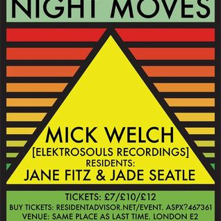 mick welch @ Night Moves 2013