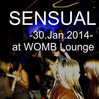 Satoshi Fumi-Live Set-SENSUAL @WOMB Lounge-30.Jan.2014