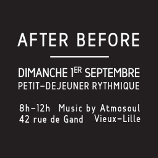 """After Before"" : Petit-déjeûner rythmique (Braderie Lille 2013)"