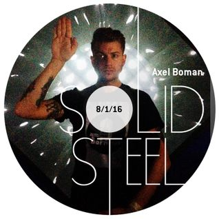 Solid Steel Radio Show 8/1/2016 Hour 1 - Axel Boman