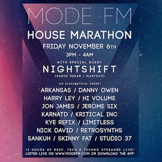 06/11/2015 - Kay Jose [SkinnyFat] - House Marathon Set - Mode FM