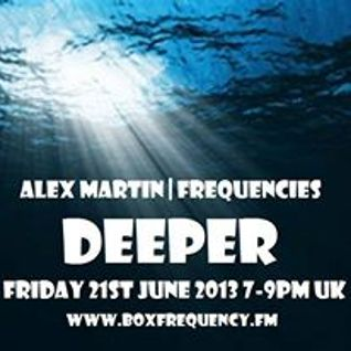 FREQUENCIES 21st June 2013