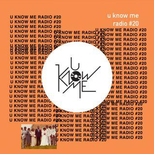 U Know Me Radio #20 | Pomo | Letherette | Flume | Mayer Hawthorne | Shades | Champion & Four Tet