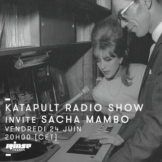 Katapult Invite Sacha Mambo - 24 Juin 2016