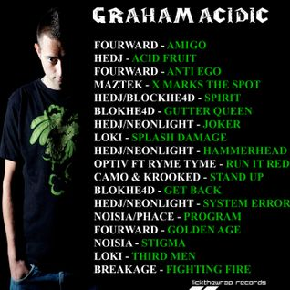 graham acidic - st pauls carnival warm up D&B mix