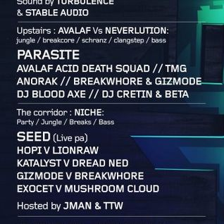Breakwhore & Gizmode @ AGRO (21st January 2012)
