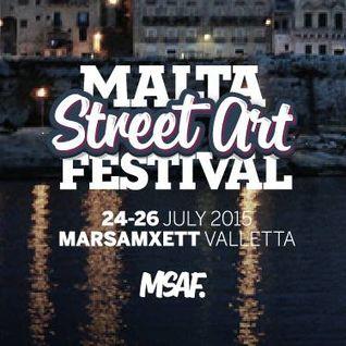 Sonitus Eco - Dj set @ Trackage Scheme Malta streetart festival