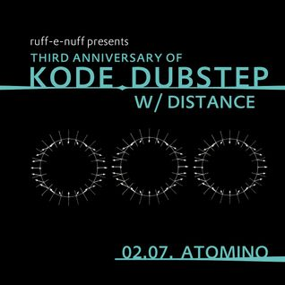Motorv8a - Warm Up @ 3 Years Kode Dubstep w/ Distance / Atomino, Chemnitz, Germany