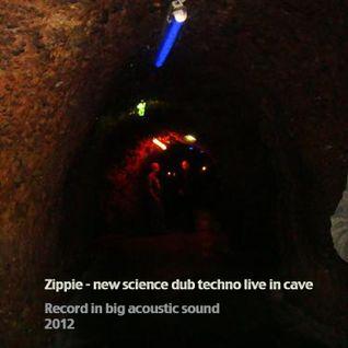 Zippie - new science dub techno live in cave