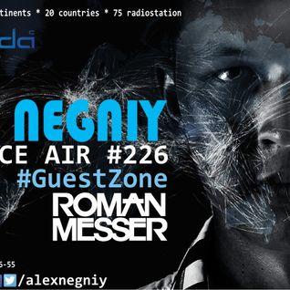 Alex NEGNIY - Trance Air #226 [ #GuestZone: Roman Messer ]