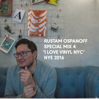 SPECIAL MIX FOR 'I LOVE VINYL' (NYE, NEW YORK 2016)