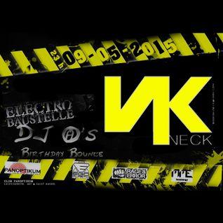NECK - ELECTRO BAUSTELLE (Panoptikum Club) - 09 05 2015