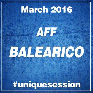2016 MARCH - AFF BALEARICO Unique Session