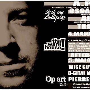 A.Paul - Live Set -  Lollipop @ Warehouse, Lisboa, PT - 04.05.2013