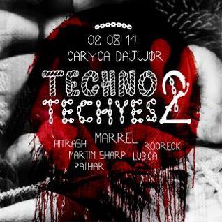 Marrel - @ Techno Techyes 2 Caryca Dajwór, Kraków (02.08.2014)